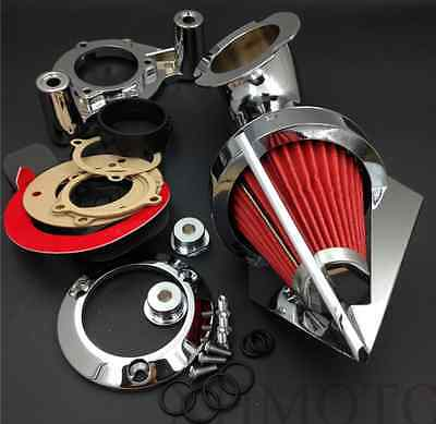 Motorcycle Cone Spike Air Cleaner Filter for Harley Touring Dyna Electra Glide