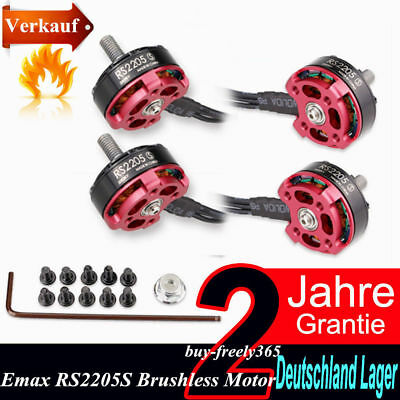 Emax RS2205S 2300KV Brushless Motor for FPV Racing Quadcopter 2 Pairs DE DHL