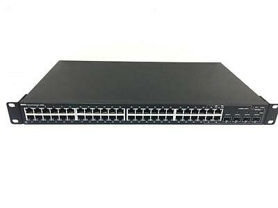 Dell PowerConnect 2848 managed switch gigabit 48 ports rack mount