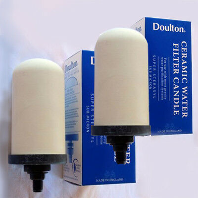 NEW 2 Royal Doulton 12 Month Water Filter Purifier Cartridges