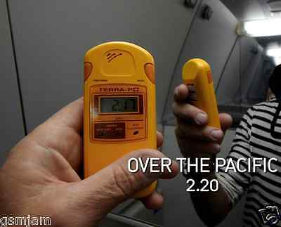 Personal radiation monitoring device Up to 6000h battery life Terra-P+Dosimeter