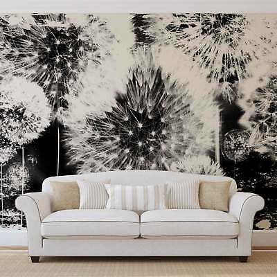 WALL MURAL PHOTO WALLPAPER XXL Dandelion Black White	 (2185WS)