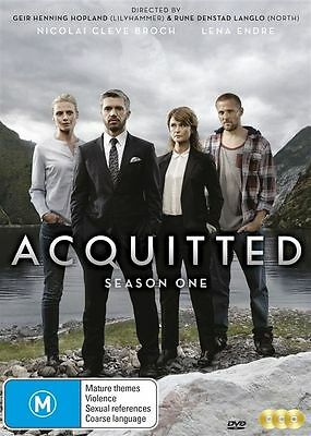 Acquitted : Season 1 (DVD, 2016, 3-Disc Set) (Region 4) Aussie Release