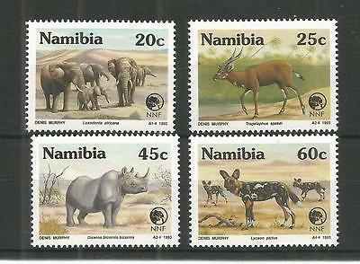 Namibia 1993 Nature Foundation Sg,606-609 Un/mm Nh Lot 1209A