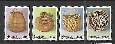 Namibia 1997 Basket Work Sg,733-736 Un/mm Nh Lot 1214A