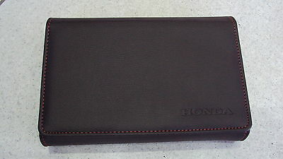 Genuine Honda Document Wallet Folder to hold the Service Book and Owners Manual