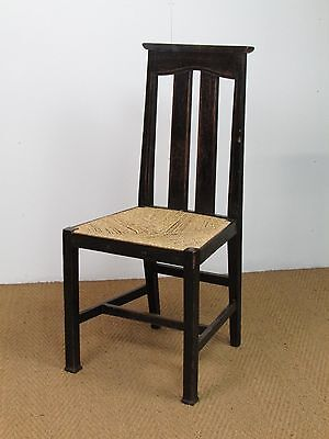 Set Of 6 Arts & Crafts Liberty & Co Dining Chairs