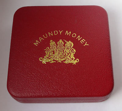 Maundy coin cased set 2006 QEII - 4 x genuine silver COINS - aUNC condition -897