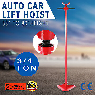 3/4 Ton Auto Lift Car Jack Under Hoist Stand Manual Support Load Transmission
