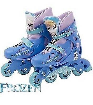 Disney Frozen Adjustable Inline Skates Size 13J - 3 Brand New And Box