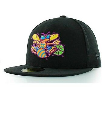 Charlotte Hornets Multipop NBA 59Fifty Fitted Team Cap By New Era Size 7 1/2