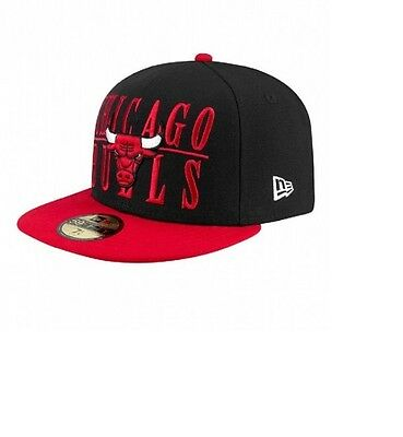 Chicago Bulls Step Over NBA Fitted Team Cap By New Era Size 7 1/2