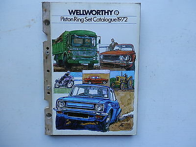 WELLWORTHY AE HEPOLITE piston ring catalogue issued 1972 cars commercials mbikes
