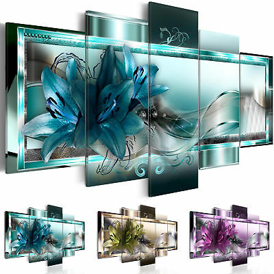 Canvas Wall Art Image Picture Photo Print FLOWERS b-C-0153-b-n