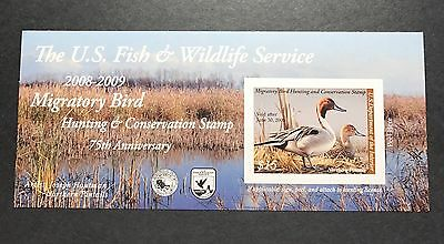 #RW75A 2008 - 2009 - US Federal Duck Stamp - Post Office FRESH
