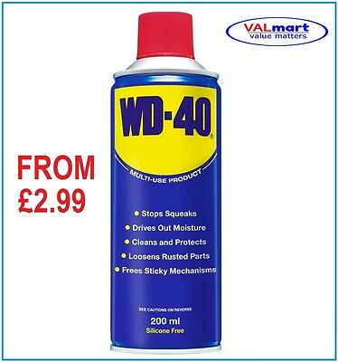 WD-40 WD40 200ml Spray