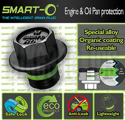 The ORIGINAL Smart-o Oil Drain plug - M12X1.5- Kawasaki ER-6F 650 F ABS - 2014
