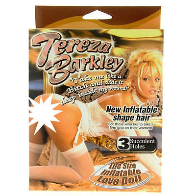 Tereza Barkley Inflatable Blow Up Doll Stag Do / Birthday Parties Theme Parties