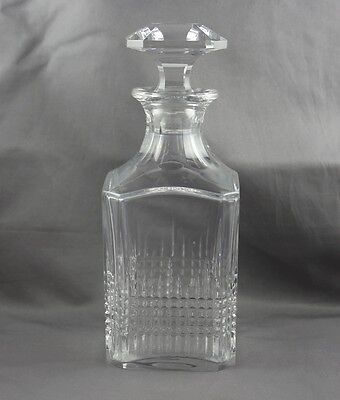 Baccarat Crystal Nancy Square Decanter