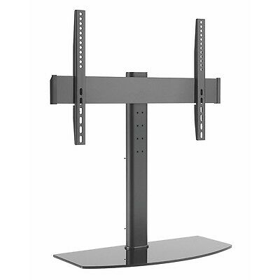 Tabletop Pedestal Bracket TV Stand LCD/LED 42 -55 Inch Swivel Height Adjustable