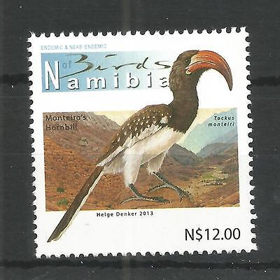 Namibia 2012 High Value Definitive Birds Sg,1193 Un/mm Nh Lot 1228A