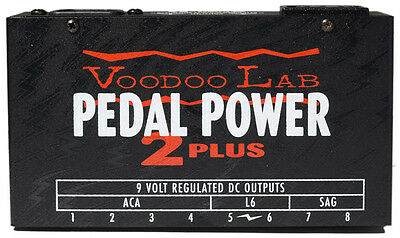 VooDoo Lab Pedal Power 2 Plus Effects Power Supply DC Pedals (NEW)