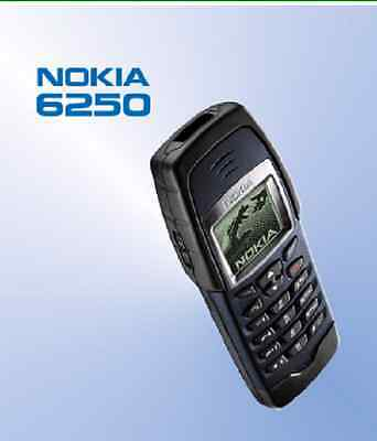 Nokia 6250 User's Manual- Original