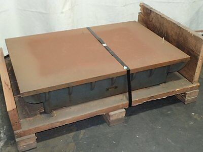 The Challange Machine Co.  Steel Surface Plate  24'' X 36'' X 6 1/2'' 10161