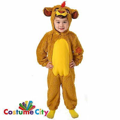 Childs Infants Toddlers Official Lion Guard Kion Fancy Dress Party Costume