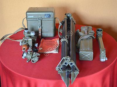 * Military antiqueTheodolit theodolite +periscope+tripod +accesories Surveying *