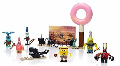 Mega Bloks SpongeBob Square Pants Post-Apocalypse Figure Pack  New