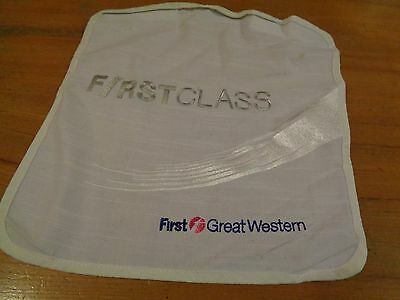FIRST CLASS First Great Western Antimacassar/Head rest cover- Helps GWR 5532