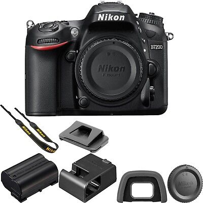Nikon D7200  DX-Format CMOS Sensor Digital SLR Body (Black) W/ 1 YEAR WARRANTY!