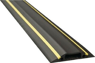 D-Line Black/Yellow Medium Hazard Duty Floor Cable Cover Protector | 9m