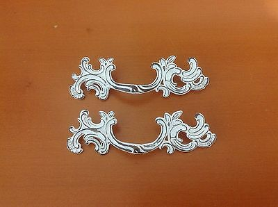 169 VTG French Provincial Handles In White Distress, Shabby Chic! 4 available