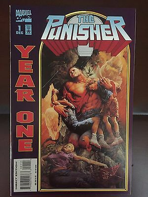 Punisher: Year One Issues 1,2 Mini-Series 1994