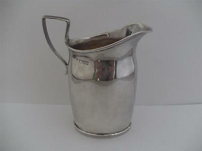 Beautiful Solid Silver Cream Jug Creamer Chester 1905