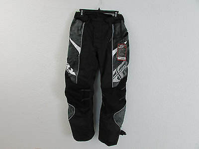 Fly Snx Pro Mens Black Snowmobile Pants Insulated