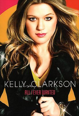 Kelly Clarkson 2009 All I Ever Wanted Tour Concert Program Book