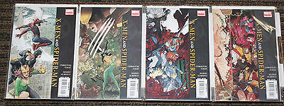 Marvel X-Men and Spider-Man # 1-4 COMPLETE SET - Gage Alberti