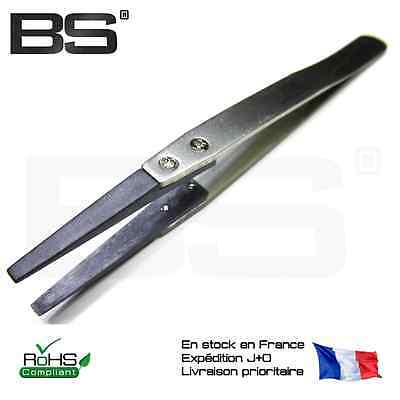 Pinces brucelles tweezers ESD ESD-2A safe PPS SMD SMT Vetus ESD2A