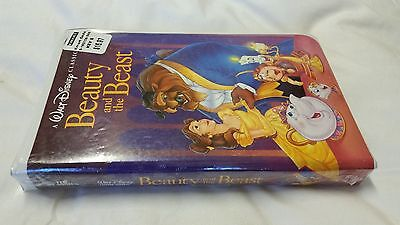 Walt Disney The Classics Black Diamond Beauty and the Beast VHS-1992 New/Sealed