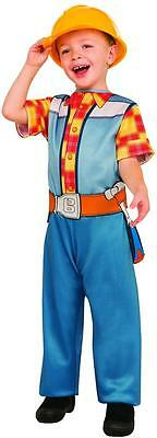 Bob the Builder Construction Worker PBS Nick Fancy Dress Halloween Child Costume