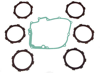 Honda CB250 'Two-fifty' clutch plate set, friction plates & gasket (1992-2003)