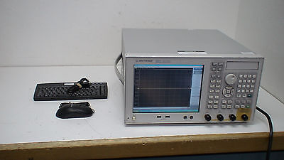 Agilent E5071C  300 kHz to 8.5 GHz Network Analyzer op:10/1E5/480