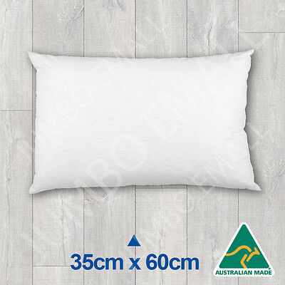 Aust Made Cushion Insert Polyester Premium Lofty Fibre----35cm x 60cm