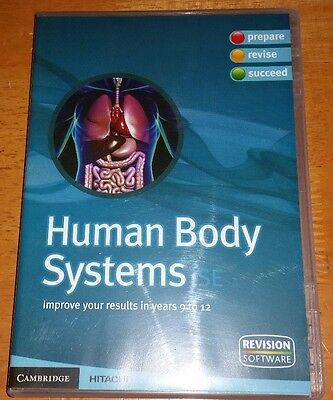 Revision Software's Human Body Systems Educational Pc Cd Rom For Years 9 -12