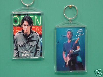 JOHN MAYER - with 2 Photos - Designer Collectible GIFT Keychain 02