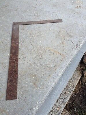 "Nice Vintage Russell & Erwin Mfg. Co. 24"" x 16""  Rafter/Framing No. 14 Square"
