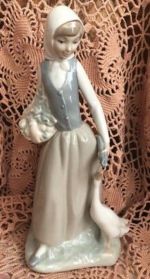 Lladro NAO 14 Angel Seated Very Early Issue!  Signed!  Poor repair Job! No Box!